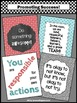 Teal Red Classroom Decor Set of 4 Inspirational Posters wi