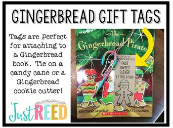 Christmas Gingerbread Gift Tags FREEBIE