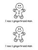 Christmas: Gingerbread Man Counting Books