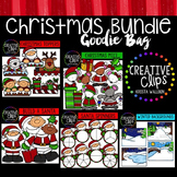Christmas Goodie Bag Bundle {Creative Clips Digital Clipart}