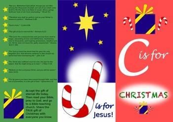 Christmas Gospel Tract