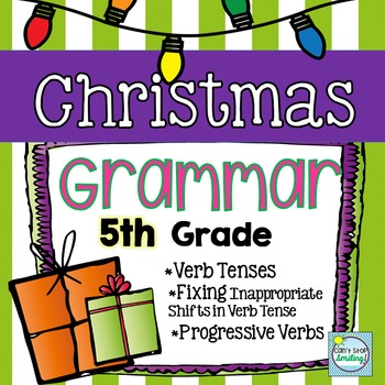 Christmas Activities ~ Christmas Grammar 5th Grade