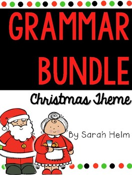 Christmas Grammar Bundle