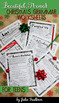 Christmas Grammar Worksheets, NO PREP, Middle and High School