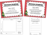Christmas Graphing - Analyzing Data/Creating Bar Graphs (C