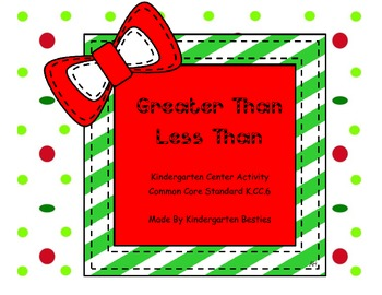 Christmas Greater or Less Than