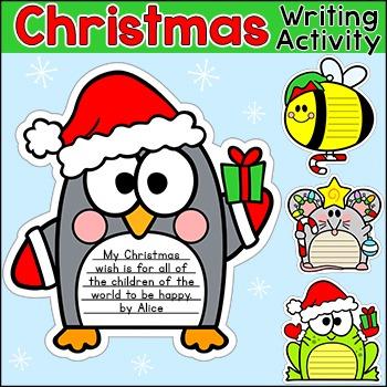 Christmas Writing - Christmas, Hanukkah & Kwanzaa Anim