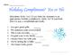 Christmas/Hanukkah Social Skills