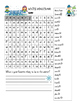 Free Winter Holiday Wordsearch with  Holiday Problem Solvi