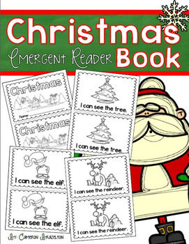 Christmas Holiday Winter Emergent Reader Book