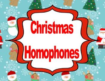 Christmas Homophone