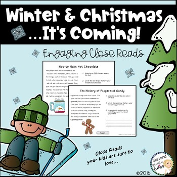 Christmas Informational Close Reads and Math Fun!