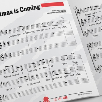 Recorder Sheet Music: Christmas Is Coming - Trio [In the S