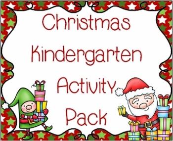 Christmas Kindergarten Activity Pack