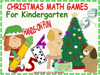 Christmas Kindergarten Math Games