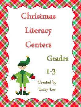 Christmas Language Arts Centers