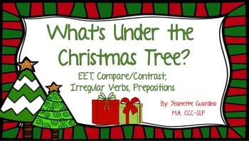 Christmas Describing Christmas Vocabulary, Compare/Contras