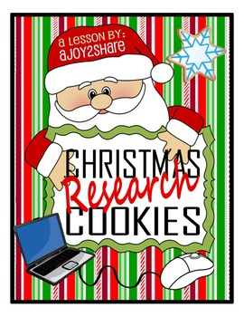 "Christmas Lesson: ""Christmas Research Cookies"""