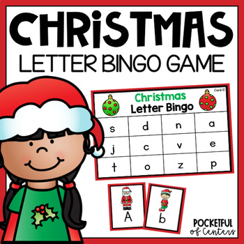 Christmas Letter Bingo