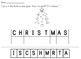 Christmas Letter Scrambles