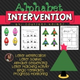 Christmas Alphabet Activities {Letter Identification, Sequ
