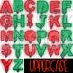 Letter Clipart Christmas Lights-AlphaLIGHTS
