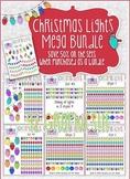 Christmas Lights: Mega Bundle Savings Clipart Set!!