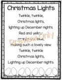 Christmas Lights - Poem for Kids