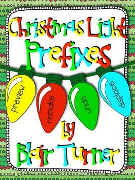 Christmas Lights Prefix Center