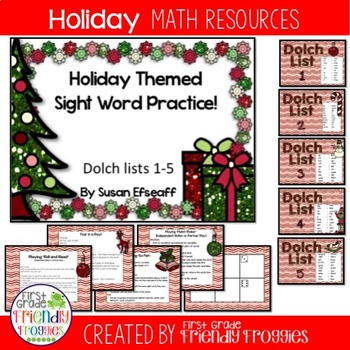 Christmas Literacy Center Games -Holiday themed Mega-pack-