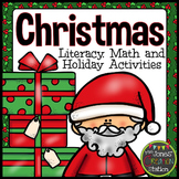 Christmas Literacy, Math and Holiday Activities