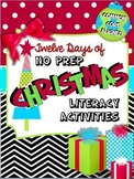 Christmas Literacy Printables - No Prep! (Common Core Aligned)