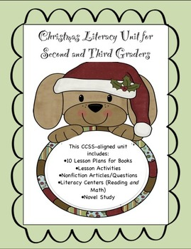 Christmas Literacy Unit for Second and Third Graders