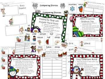 Christmas Literacy and Language Activities