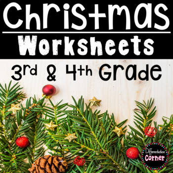 Christmas Literacy and Math Worksheets
