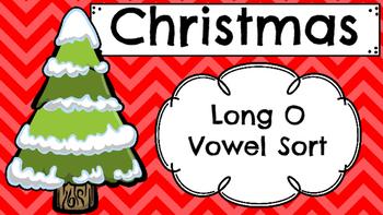 Christmas Long O Vowel Sort