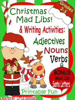 Christmas Mad Libs are Easy and Fun!