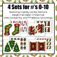 Christmas Make Ten Activities and Worksheets