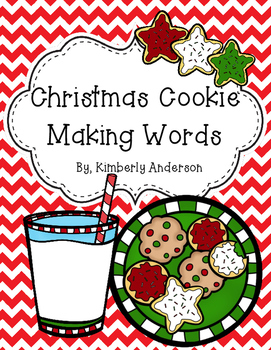 Christmas Making Words Activity
