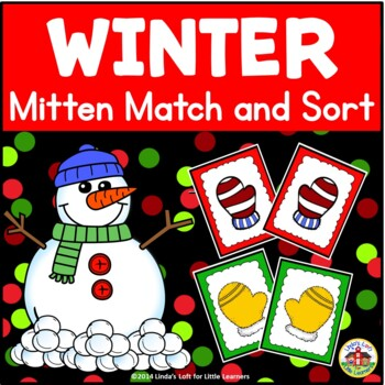 Christmas Match and Sort Activities
