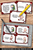 Christmas Math Elapsed Time Task Cards for Center Games an