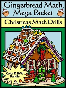 Christmas Math Activities: Gingerbread Math Christmas Math