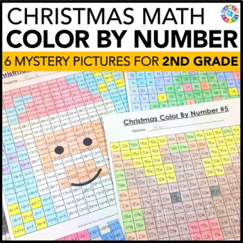 2nd Grade Christmas Activities: 2nd Grade Christmas Math (