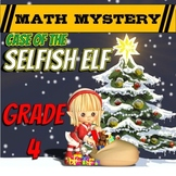 Christmas Math Activity: Christmas Math Mystery {Grade 4}