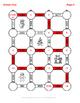 Christmas Math: 2-Digit By 2-Digit Multiplication Maze