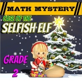 Christmas Math Activity: Math Mystery {Grade 2}