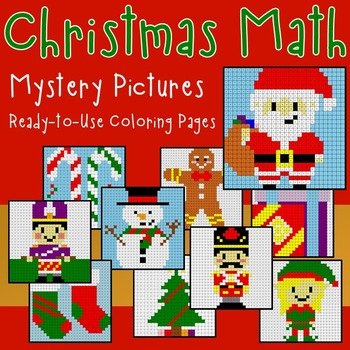 Christmas Math Activities and Christmas Math Worksheets fo
