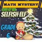 Christmas Math Activity: Math Mystery LCM, Decimals, Ratio