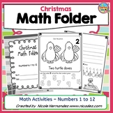 Christmas Math- Kindergarten Activities {Numbers 1 to 12}