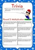 Christmas Math Activities: Fred's Christmas Party